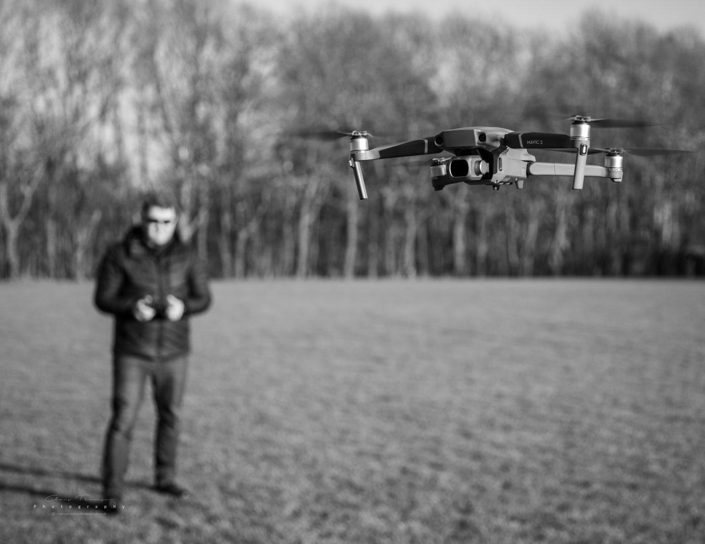 Dronefører Claus Falkenberg Thomsen